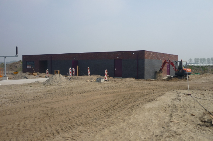 Nieuwbouw Hoogspanningsstation Westermeerdijk Van Hoek Bouw B.V. i.o.v. TenneT 1a.JPG